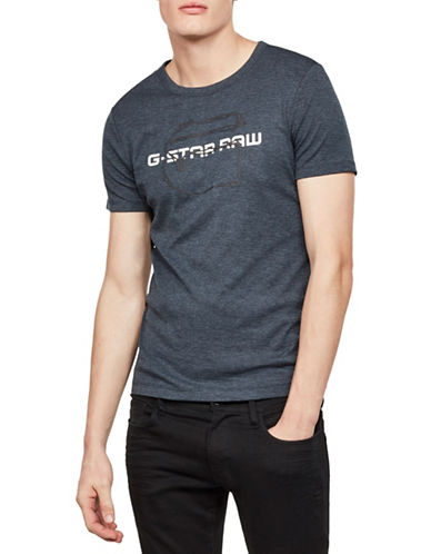 G-Star Raw Tars Crewneck Tee-GREY-XX-Large