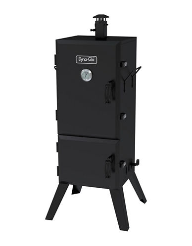 Dyna-Glo 36-Inch Vertical Charcoal Smoker-BLACK-36