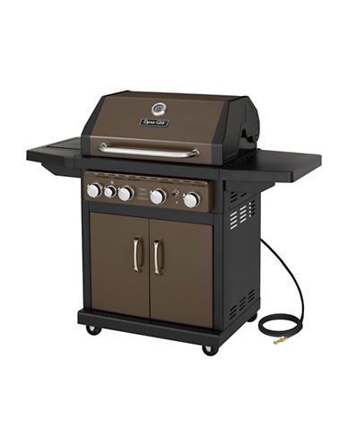 Dyna-Glo 4-Burner Natural Gas Grill-BRONZE-One Size