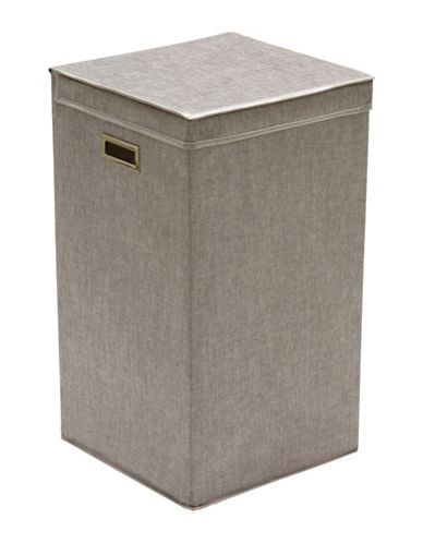 Greenway Home Products Collapsible Single Laundry Hamper-GREY-One Size