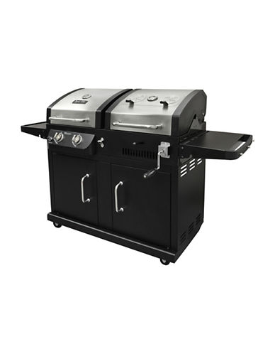 Dyna-Glo Dual Fuel Grill-BLACK-One Size