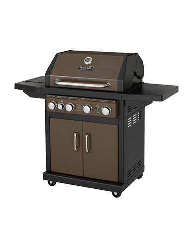 Dyna-Glo 4-Burner LP Gas Grill-BRONZE-One Size