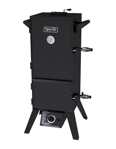 Dyna-Glo 36-Inch Dual Door LP Gas Smoker-BLACK-36