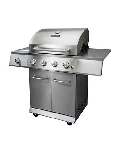 Dyna-Glo 4-Burner Stainless LP Gas Grill-STAINLESS STEEL-One Size