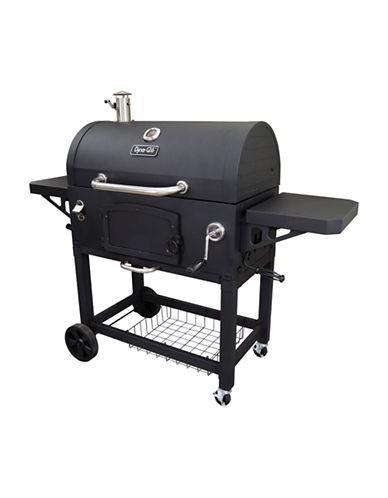 Dyna-Glo Extra-Large Heavy-Duty Charcoal Grill-BLACK-One Size