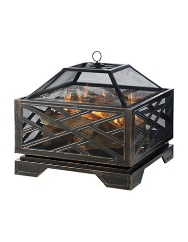 Greenway Home Products Pleasant Hearth Martin Fire Pit-BRONZE-One Size