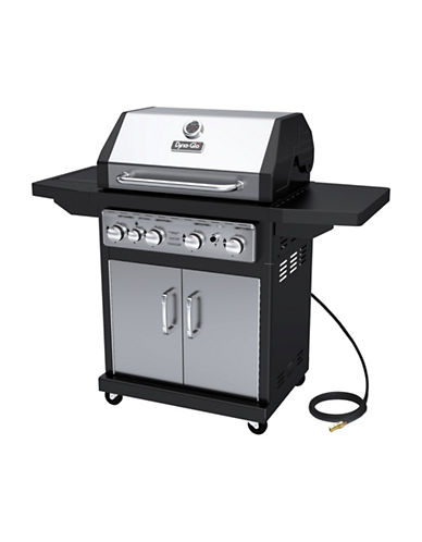 Dyna-Glo 4-Burner Natural Gas Grill-STAINLESS STEEL-One Size