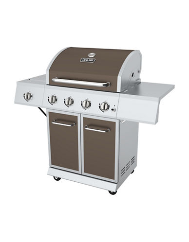 Dyna-Glo 4-Burner Bronze LP Gas Grill-BRONZE-One Size