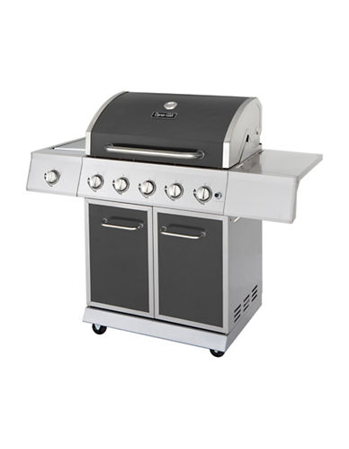 Dyna-Glo 5-Burner Gunmetal LP Gas Grill photo