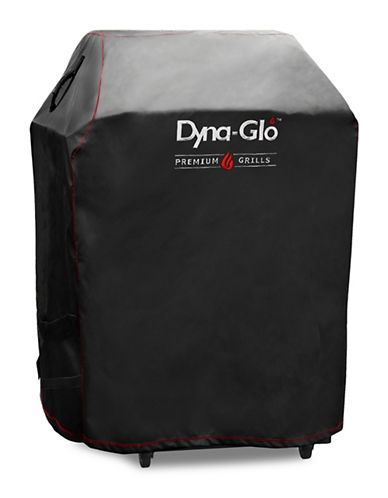 Dyna-Glo Premium Small Space LP Gas Grill Cover-BLACK-One Size