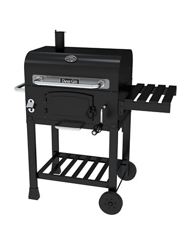 Dyna-Glo Compact Charcoal Grill-BLACK-One Size