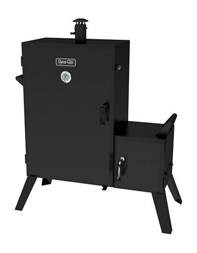 Dyna-Glo Wide Body Vertical Offset Charcoal Smoker-BLACK-One Size