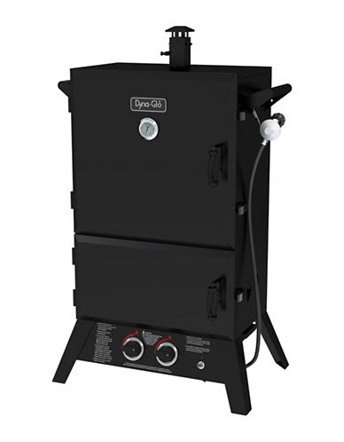 Dyna-Glo 36-Inch Wide Body LP Gas Smoker-BLACK-36