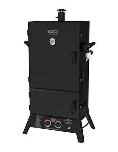 Dyna-Glo 43-Inch Wide Body LP Gas Smoker-BLACK-43