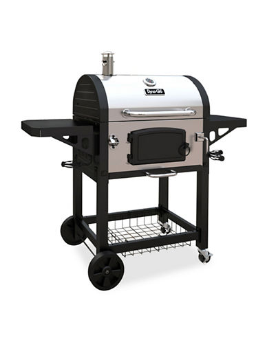 Dyna-Glo Large Premium Charcoal Grill-STAINLESS STEEL-One Size