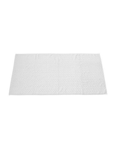 Talesma Romance Cotton Bath Towel-WHITE-Bath Towel