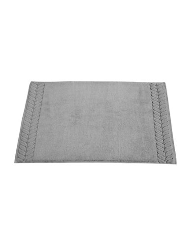 Talesma Romance Cotton Tub Mat-DARK GREY-Bath Mat