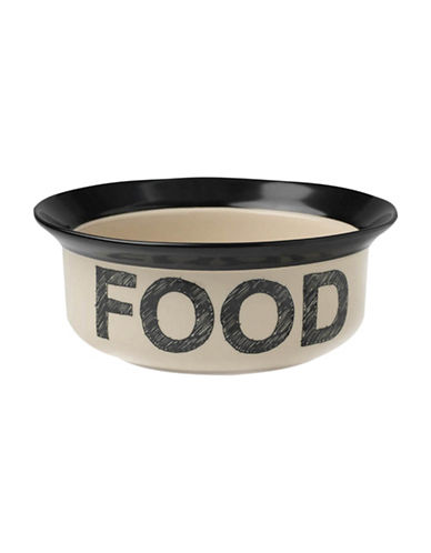 Petrageous Designs Pooch Basic Food Bowl-BLACK-One Size