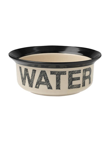 Petrageous Designs Pooch Basics Water Bowl-BLACK-One Size