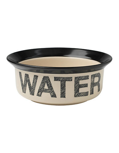 Petrageous Designs Pooch Basics Water Bowl-BLACK-One Size