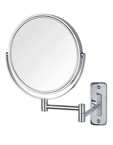 Jerdon 8x Magnification Wall Mount Mirror-SILVER-8