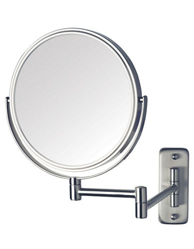 Jerdon 8 x Magnification Wall Mount Mirror-SILVER-8