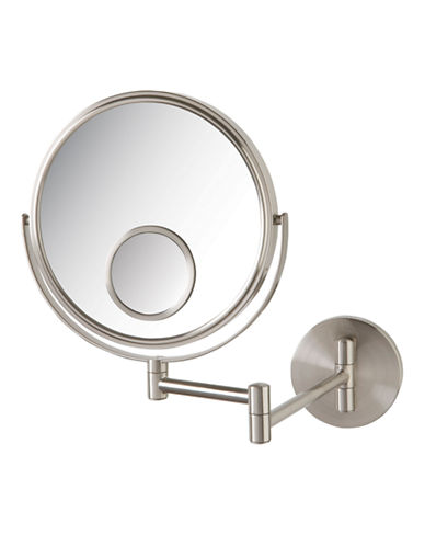 Jerdon 10x Magnification Wall Mount Mirror