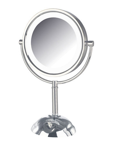 Jerdon LED Lighted Vanity Mirror-STAINLESS STEEL-One Size