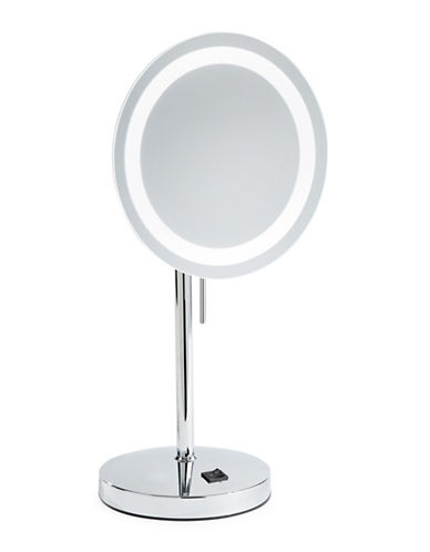 Jerdon LED Vanity Mirror-SILVER-One Size
