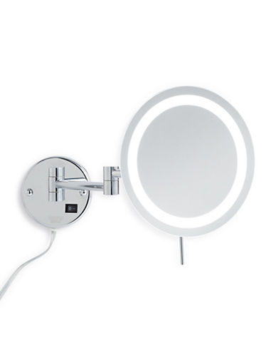 Jerdon LED Wall Mount Mirror-SILVER-One Size