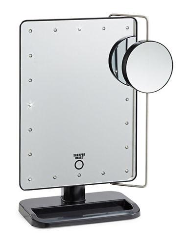 Jerdon Cordless LED Tri-View Beauty Station-BLACK-One Size