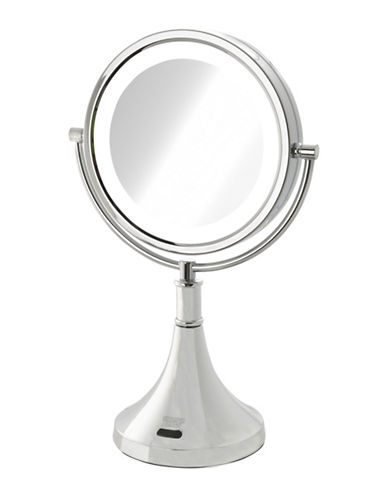Jerdon Motion Sensor LED Vanity Mirror-STAINLESS STEEL-One Size