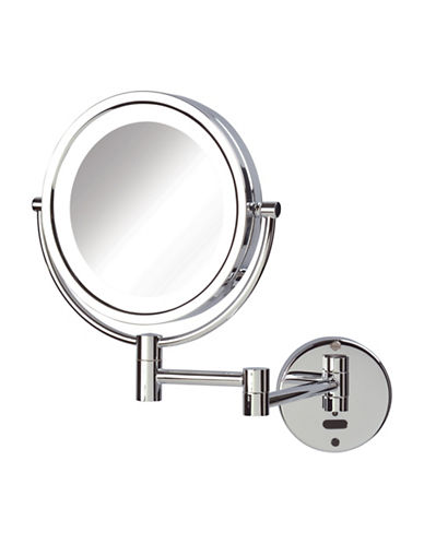 Jerdon Motion Sensor LED Wall Mirror-STAINLESS STEEL-One Size