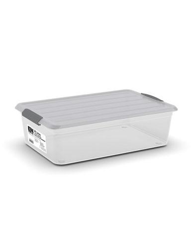 Essential Needs Organizer Latch Box-GREY-One Size