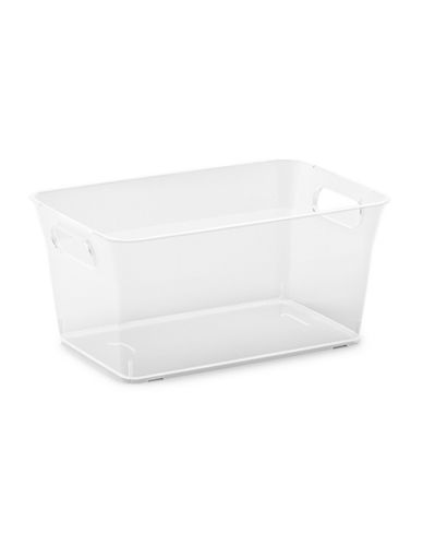 Essential Needs Small V Basket-CLEAR-One Size