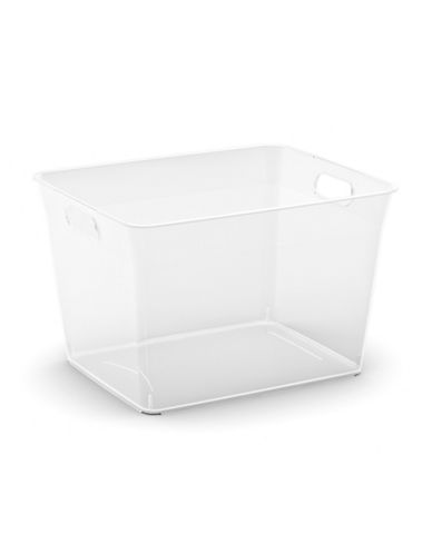 Essential Needs Large V Basket-CLEAR-One Size