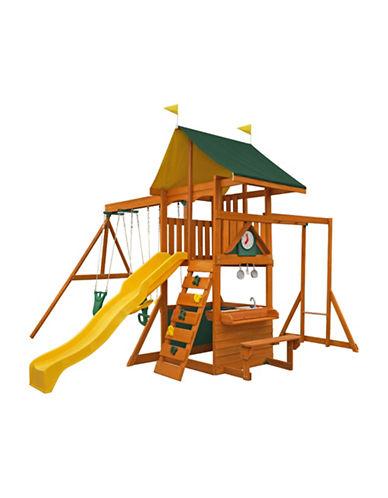 Big Backyard Laurentian Wooden Play Set-NATURAL-One Size