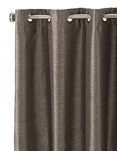 Home Studio Dior Grommet Curtain Panel-MOCHA-One Size