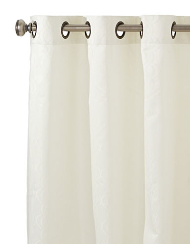 Home Outfitters Avila Grommet Curtain Panel-CREAM-One Size