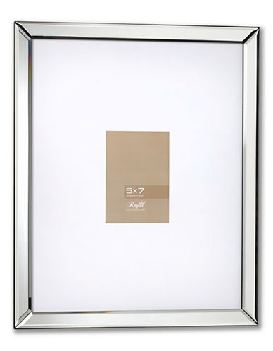 Home Outfitters Mirror Frame-SILVER-One Size