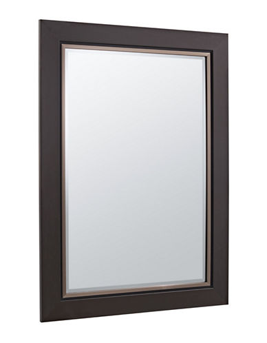 Home Outfitters Soho Double-Step Mirror-BROWN-One Size