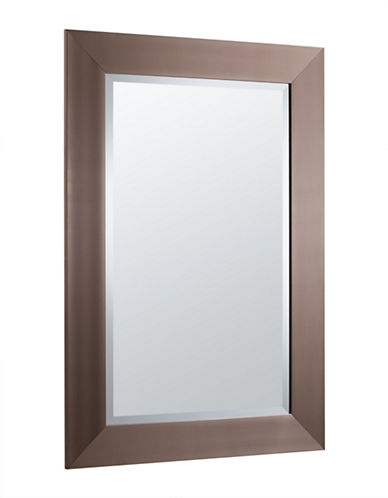 Home Outfitters Avalon Mirror-BROWN-One Size