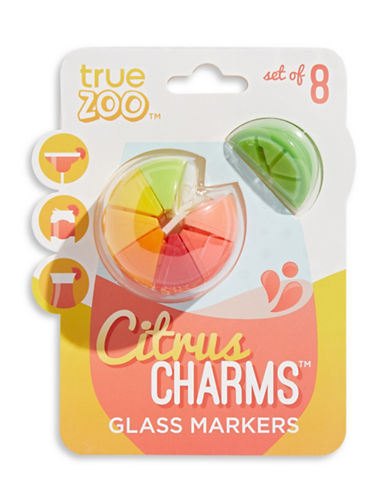 Truezoo Citrus Charms Glass Markers-MULTI-One Size
