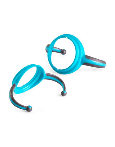 Joovy Two-Pack Dood Sippy Cup Handles-TURQUOISE-One Size