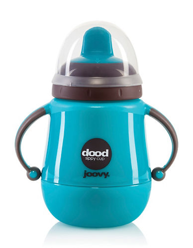 Joovy Nine oz. Insulated Sippy Cup-TURQUOISE-9oz 88417991_TURQUOISE_9oz