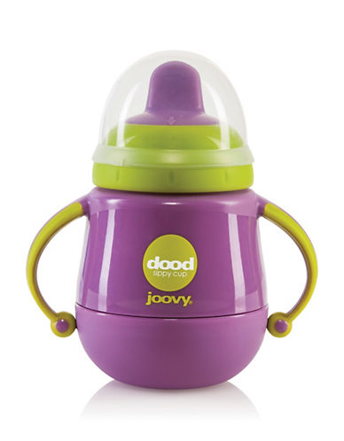 Joovy Seven oz. Insulated Sippy Cup-PURPLE-7oz