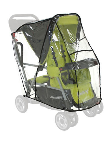 Joovy Caboose Ultra Light Rain Cover-CLEAR-One Size