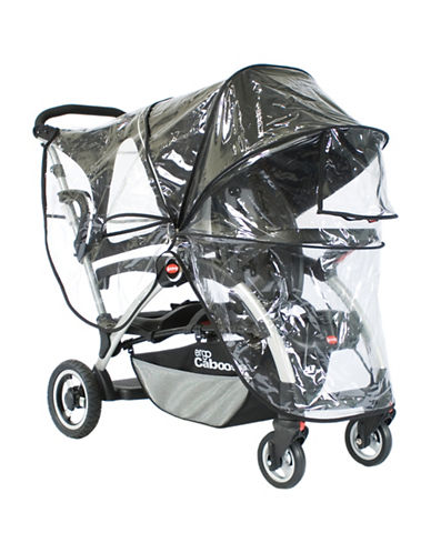 Joovy Big Caboose Rain Cover-CLEAR-One Size