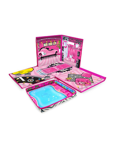 Kroeger ZipBin 40 Doll Dream House Toy Box and Playmat-MULTI-One Size