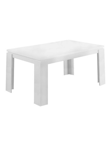 Monarch Dining Table-WHITE-One Size